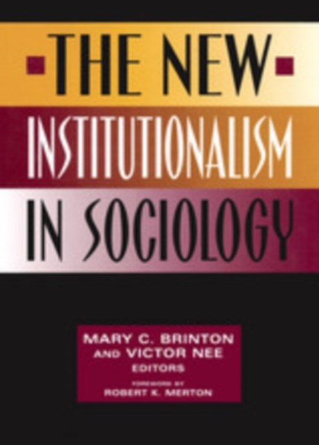 (ebook) New Institutionalism in Sociology