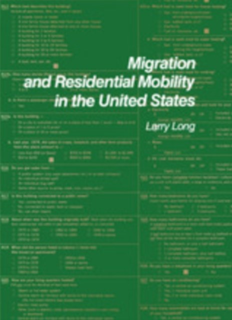Migration and Residential Mobility in the United States