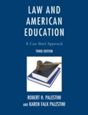 (ebook) Law and American Education