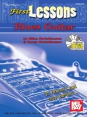 (ebook) First Lessons Blues Guitar