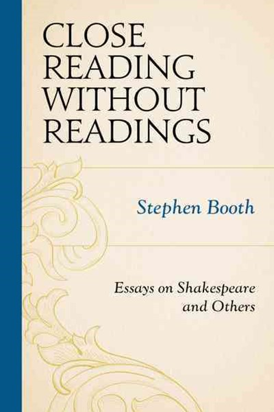 Close Reading Without Readingscb