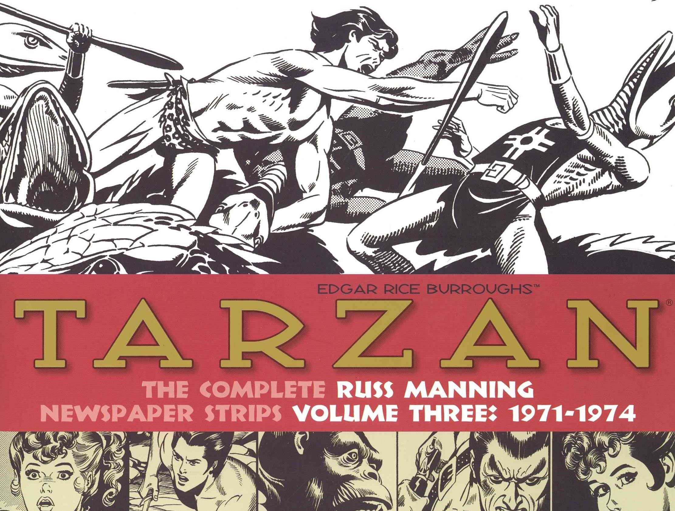 Tarzan The Complete Russ Manning Newspaper Strips Volume 3 (1971-1974)