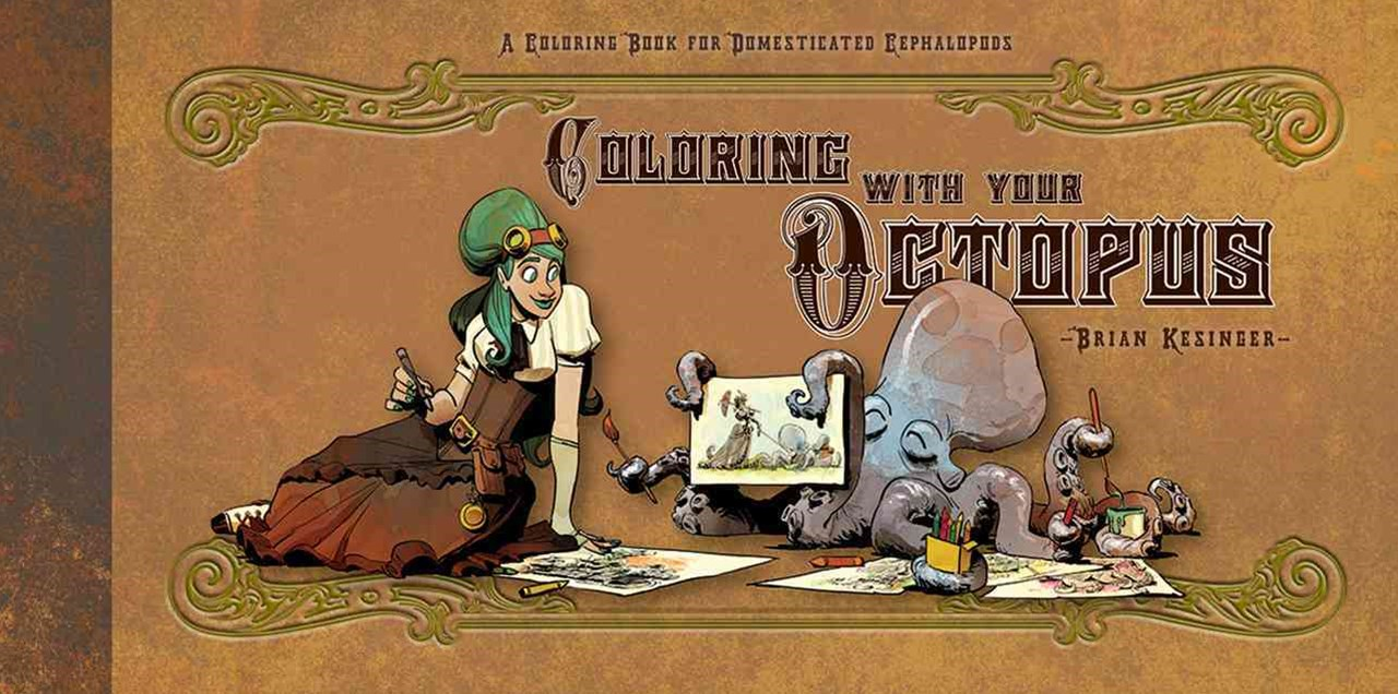 Coloring with Your Octopus