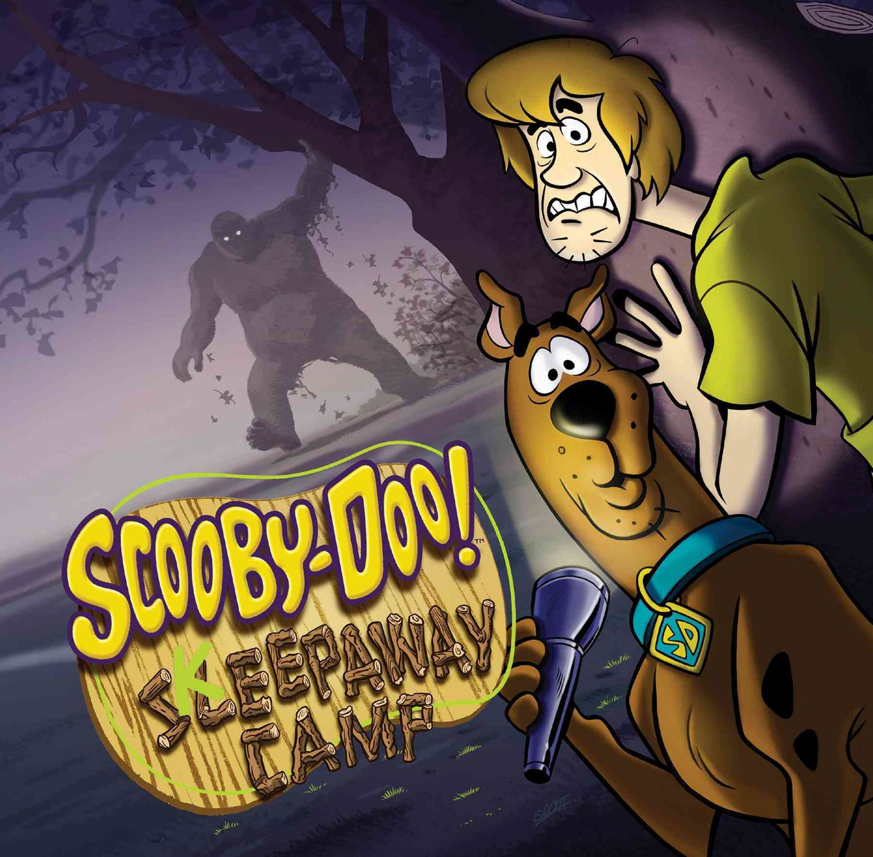 Scooby-Doo in Keepaway Camp