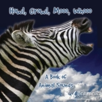 Howl, Growl, Mooo, Whooo, A Book of Animals Sounds