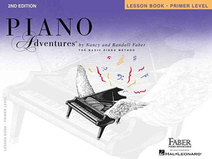 Piano Adventures Primer Level - Lesson Book by Nancy Faber, Randall Faber (9781616770754) - PaperBack - Entertainment Music General
