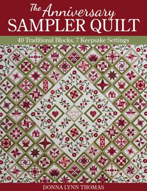 (ebook) Anniversary Sampler Quilt