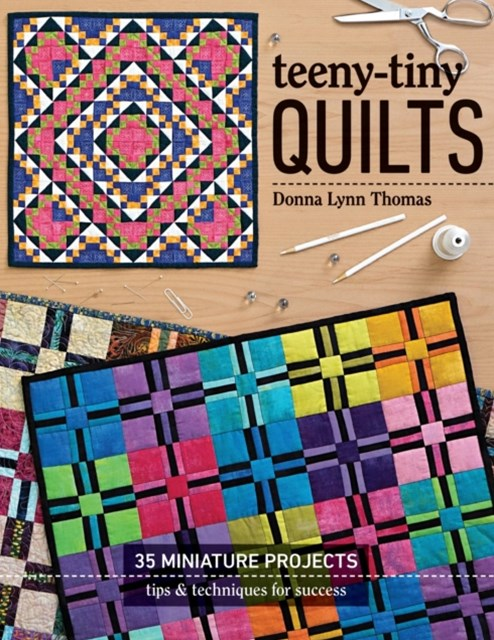 (ebook) Teeny-Tiny Quilts