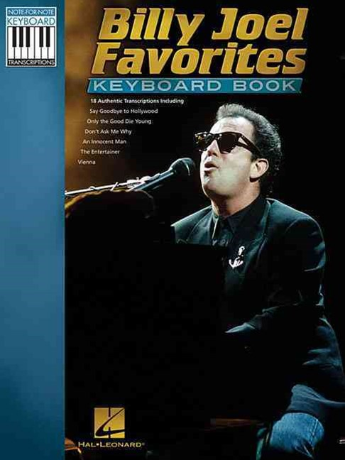 Billy Joel Favorites Keyboard Book