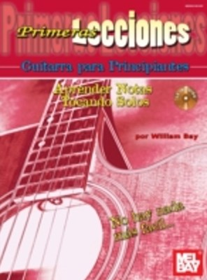 (ebook) First Lessons Beginning Guitar, SpanishLearning Notes/Playing Solos
