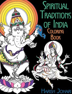 Spiritual Traditions of India Coloring Book by Harish Johari (9781620556290) - PaperBack - Craft & Hobbies Puzzles & Games