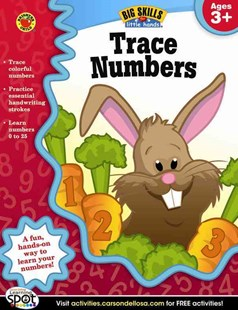 Trace Numbers by Brighter Child, Carson Dellosa Publishing (9781620574485) - PaperBack - Non-Fiction