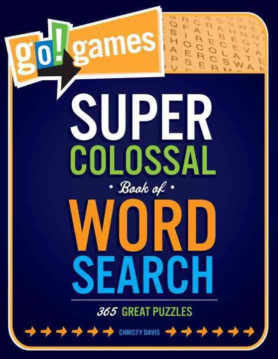 Super Colossal Book of Word Search