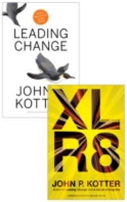Kotter on Accelerating Change (2 Books)