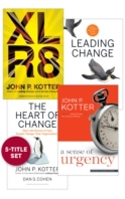 (ebook) Change Leadership: The Kotter Collection (5 Books)