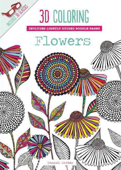 3D Coloring - Flowers
