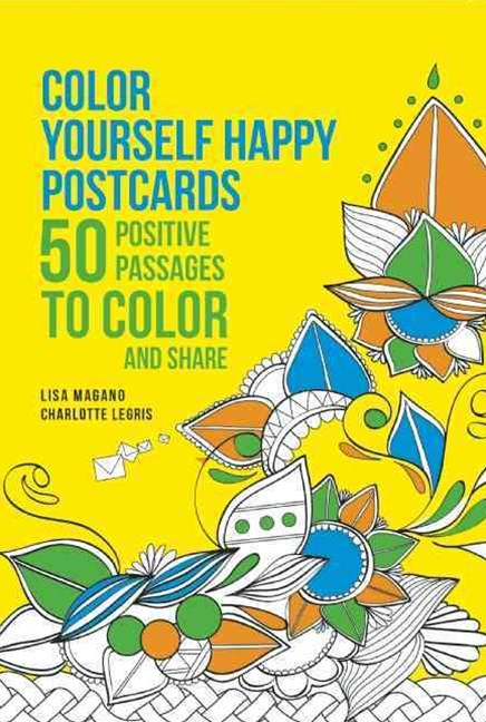 Color Yourself Happy Postcards