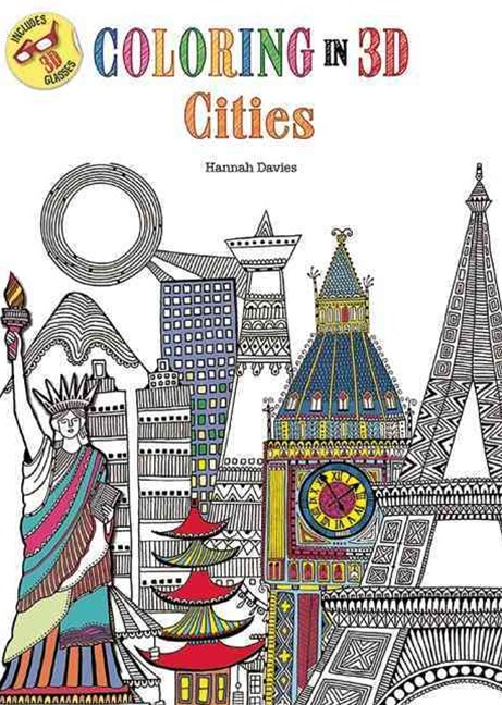 Coloring in 3D Cities