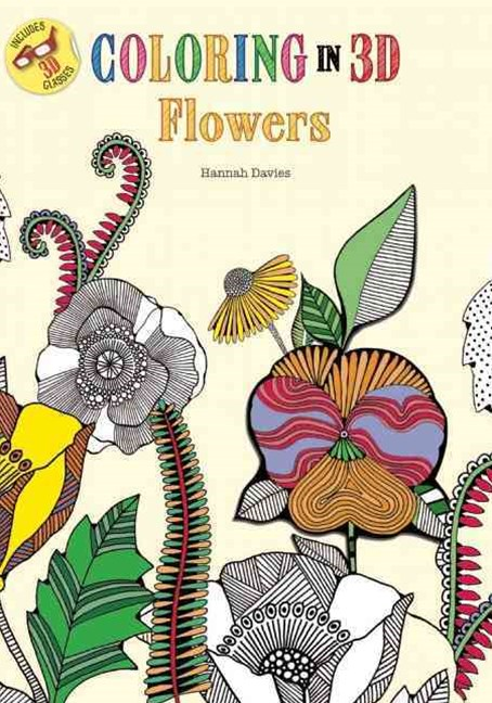 Coloring in 3D Flowers