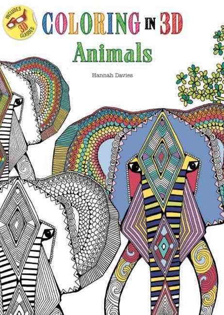 Coloring in 3D Animals