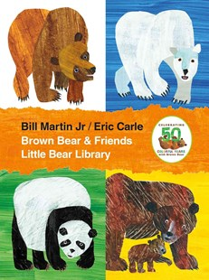Brown Bear and Friends Little Bear Library by Bill Martin, Eric Carle (9781627797290) - HardCover - Children's Fiction Classics