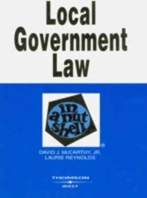 (ebook) Local Government Law in a Nutshell, 5th