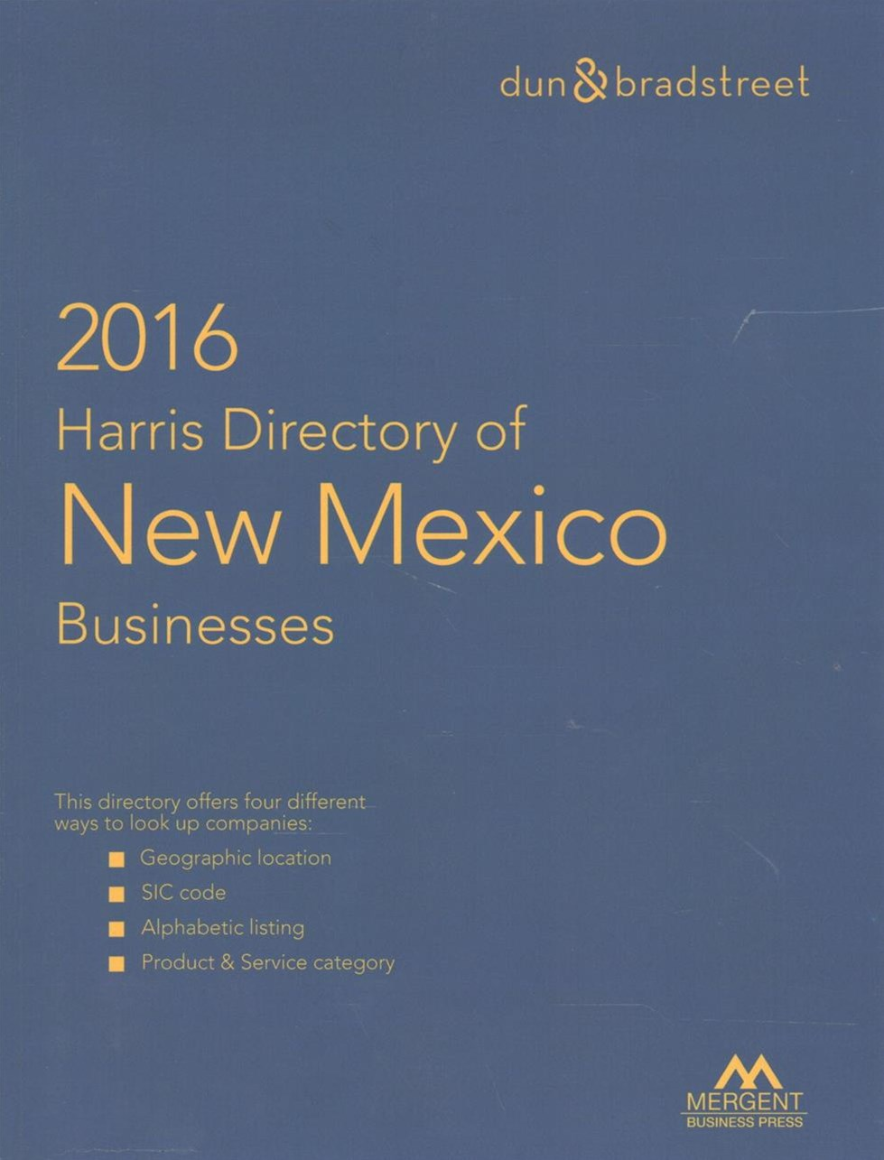Harris Directory of New Mexico Business 2016