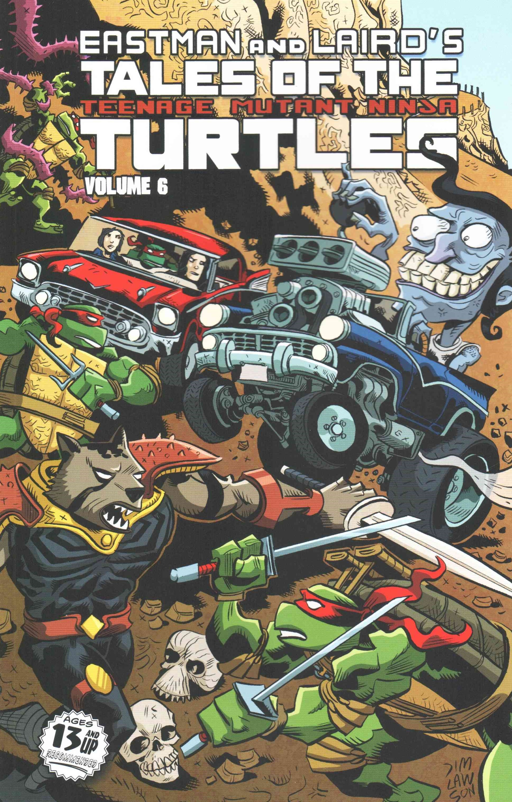 Tales of the Teenage Mutant Ninja Turtles Volume 6
