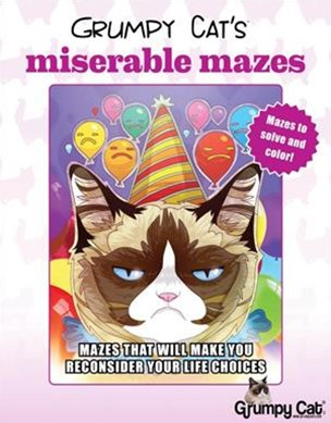 GRUMPY CATS MISERABLE MAZES