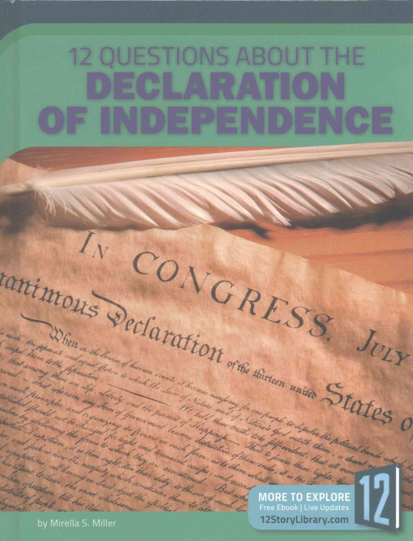 12 Questions about the Declaration of Independence