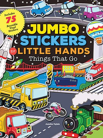 Things That Go (Jumbo Stickers Little Hands)