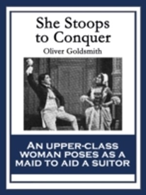 (ebook) She Stoops to Conquer