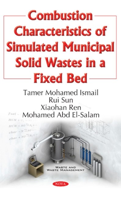 Combustion Characteristics of Simulated Municipal Solid Wastes in a Fixed Bed