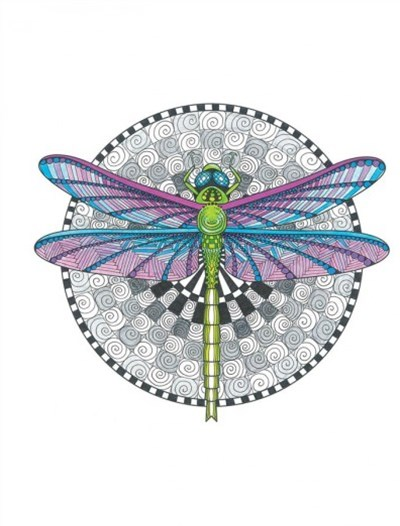 Tangleeasy Dragonfly Journal