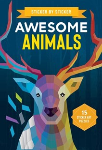 Sticker by Sticker: Awesome Animals by Editors of Thunder Bay Press (9781645178514) - PaperBack - Craft & Hobbies
