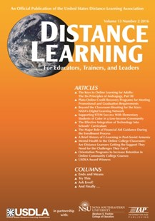 (ebook) Distance Learning - Issue - Education