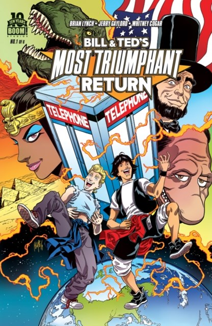 Bill and Ted's Most Triumphant Return #1 (of 6)
