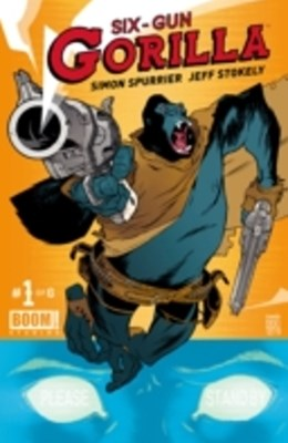 (ebook) Six-Gun Gorilla #1