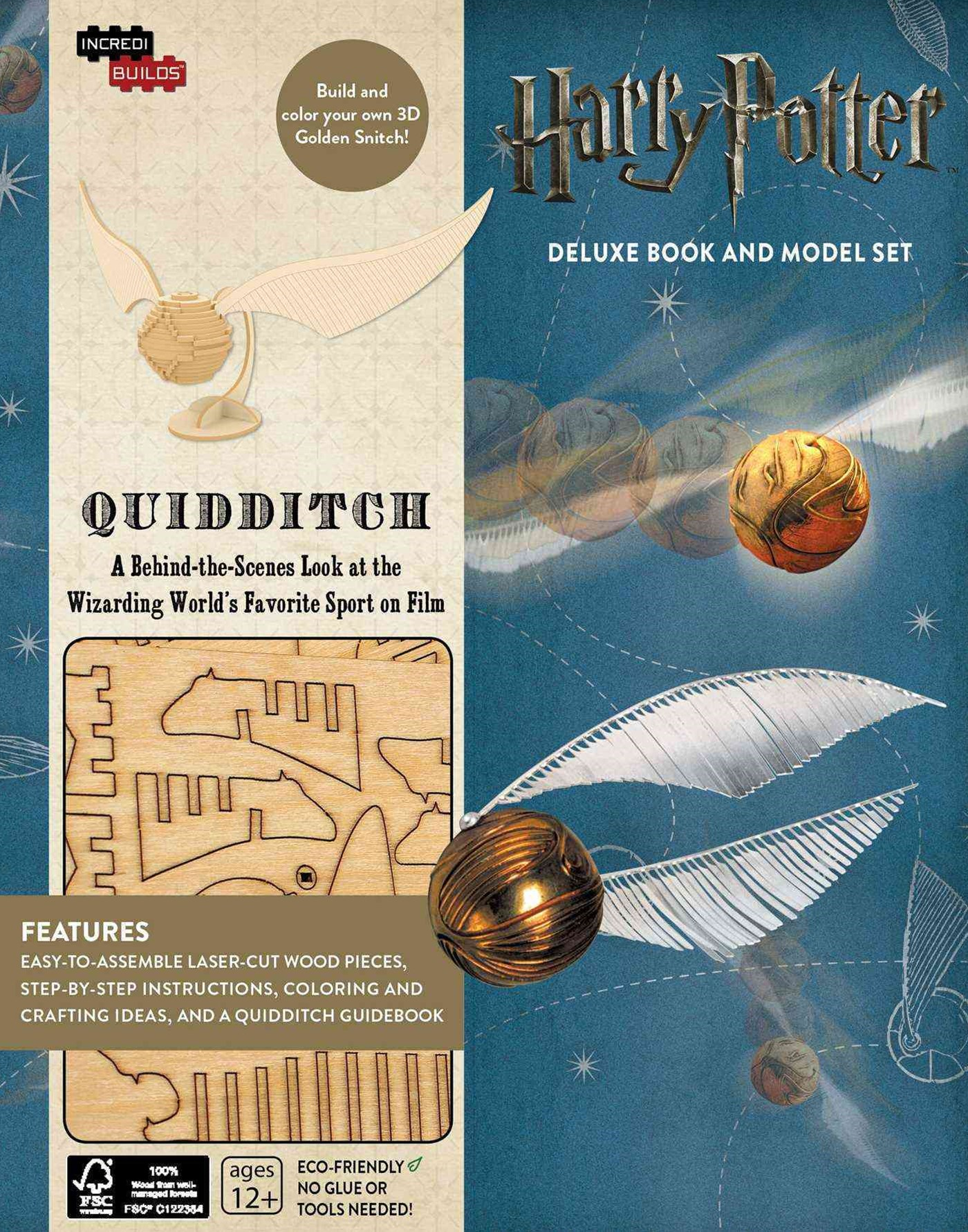 Incredibuilds: Harry Potter: Quidditch D