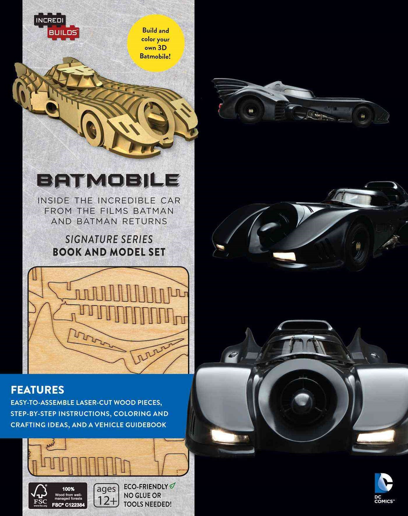 Incredibuilds: Batmobile Signature Serie