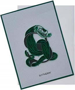 Harry Potter: Slytherin Crest Quilled Card - Cards & Wrap Greeting Cards