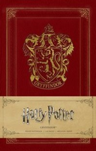 Harry Potter: Gryffindor Ruled Notebook - Art & Architecture General Art