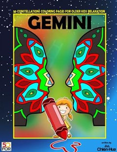 Gemini 50 Coloring Pages for Older Kids Relaxation by Chien Hua Shih (9781717115744) - PaperBack - Art & Architecture General Art