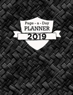 Page a Day Planner 2019 by Planner Journals (9781729110690) - PaperBack - Reference