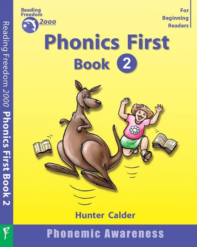 Reading Freedom Phonics First Level Book 2: Phonemic Awareness Ages 4+