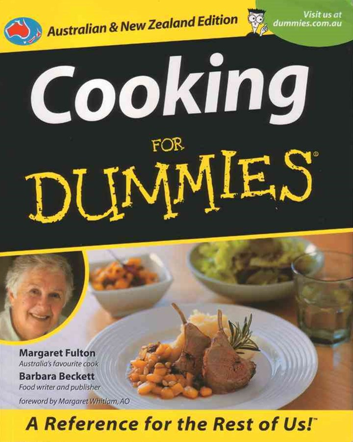 Cooking for Dummies Australian & NZ Edition