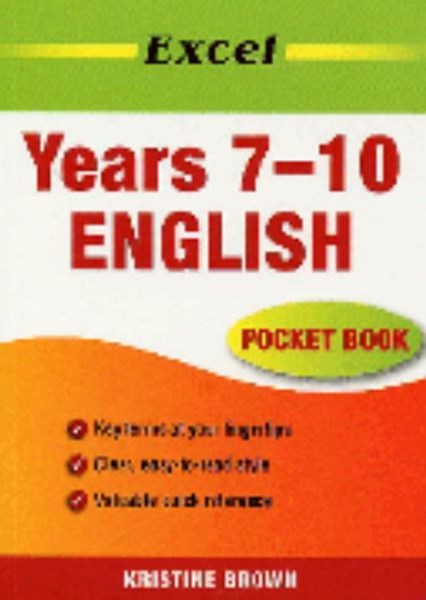 Excel English Pocket Book Years 7GÇô10