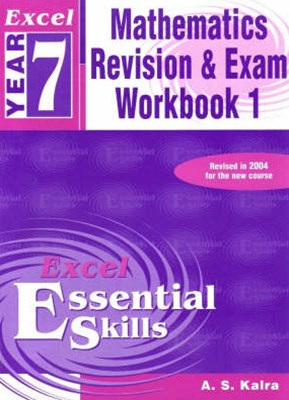 Excel Essential Skills: Mathematics Revision & Exam Workbook Year 7