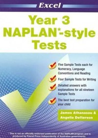 Excel NAPLAN-style Tests Year 3