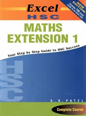 Excel Study Guide: HSC Maths Extension 1(with HSC cards) Year 12